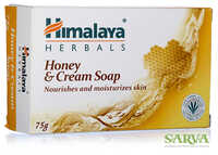Мыло Мёд и крем - Soap Honey and cream (Himalaya) **